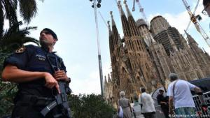 Security around Barcelona′s Sagrada Familia is high following the attacks by Moroccan terrorists in August 2017 (photo: Getty Images/AFP/P. Guyot)