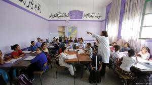 Moroccan classroom in Rabat (photo: Reuters/Y. Boudial)