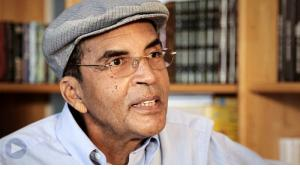 Libyan author Ibrahim al-Koni (source: YouTube)