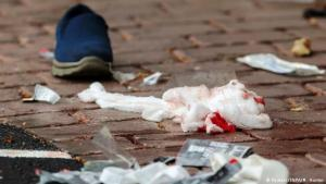 """Christchurch mourns the victims of the terrorist attack. """"There was blood everywhere"""". Photo: Reuters/SNPA/M.Hunter"""