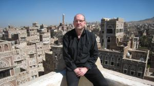 German writer Guy Helminger in Sanaa, Yemen (photo: Guy Helminger)