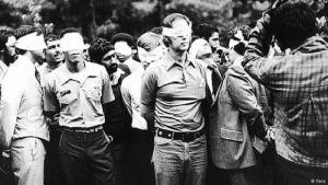 U.S. hostages in Iran in 1979 (photo: Fars)