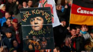 Right-wing PEGIDA extremists demonstrating on 6 February 2016 in Dresden (photo: Reuters/H. Hanschke)