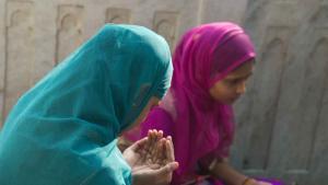 Scene from the Moinuddin Chishti Sufi shrine complex in Ajmer, northern India (photo: Marian Brehmer)
