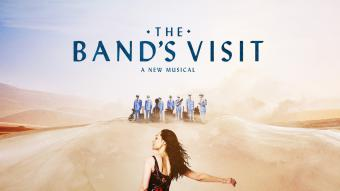 """Poster promoting """"The Band's Visit"""" (source: thebandsvisitmerchandise.com)"""