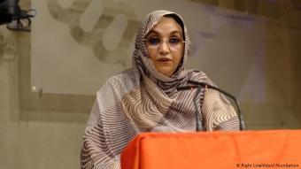 West Saharan human rights activist Aminatou Haider (photo: Right Livelihood Foundation)
