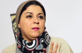 Egyptian activist and journalist Esraa Abdel Fattah (photo: Reuters)