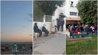 Large numbers of Tunisians aren't respecting the measures put in place to try to curb the spread of coronavirus (photos and screengrabs from social media)