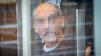 Defendant Anwar Raslan arriving in court in Koblenz, Germany (photo: AFP/T. Lohnes)