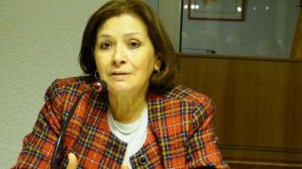 Tunisian journalist and human rights activist Sihem Bensedrine (photo: DW)